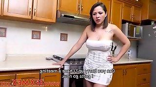 Big tits housewife fucking the plumber