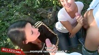 Czech Couple Swings