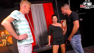 German join in matrimony try threesome in swinger club