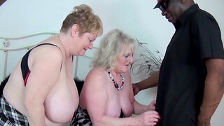Interracial FFM threesome with Claire Knight and Fiona Knight